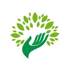 Logo friendly environment # Vector
