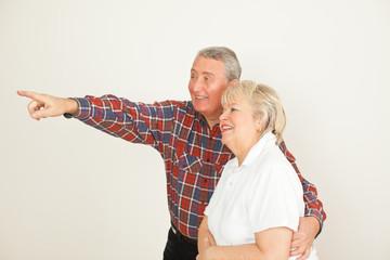 Rentner Paar