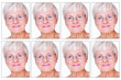 Biometric Images of an elderly lady
