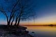 Fototapeten,abendsonne,see,dramatisch,sinken