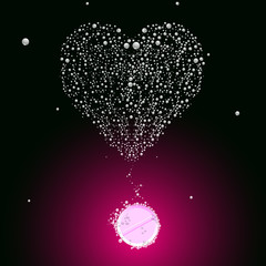 bubbling valentine pill
