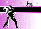 Fototapety passion of latino dance