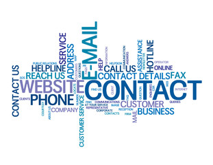 CONTACT Tag Cloud (support customer service hotline e-mail us)