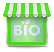 Bio Store Button