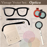 Vintage Vector Set - Optics
