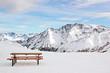 Fototapeten,schnee,winter,berg,bank
