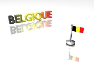 Belgique et son drapeau 1.01