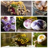 Fototapety Wielkanoc - kolaż