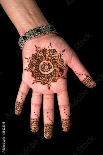 Henna - Mehendi tattoo - body art 01