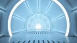 Fototapety Sci-fi corridor