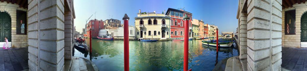 Chioggia, Venezia, a 360 gradi