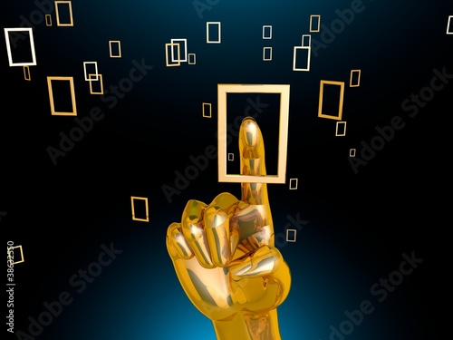 touchscreen interface_Gold