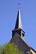 Spire of church of Guérande in France