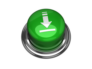 Download button. Isolated on the white background