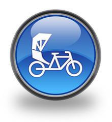 Rickshaw glossy button