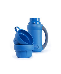 Open Thermos And Cups