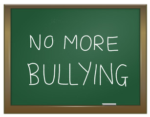 Stamp out bullying.