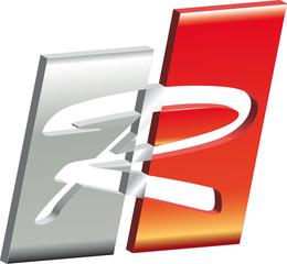 Logo R Metall rot
