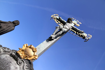 Kreuz in Prag