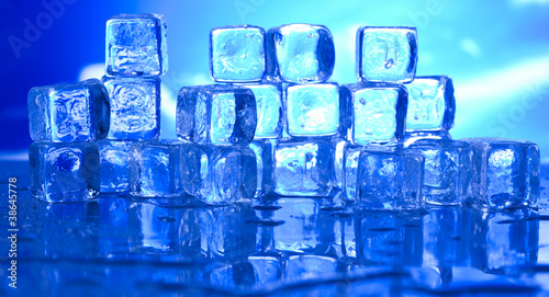 Crystals ice cubes - 38645778