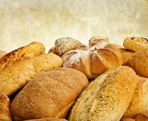 bakery bread selection