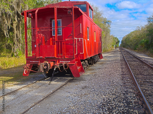 Red Caboose 2 HDR