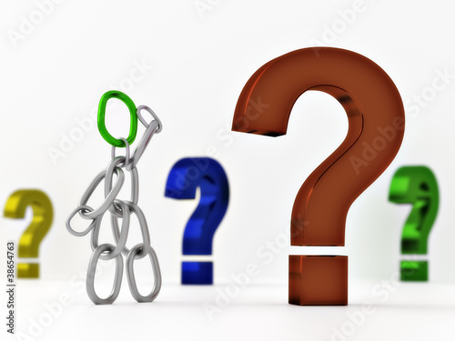 Kettenmännchen - Fragezeichen 2