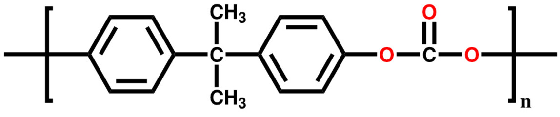 Polycarbonate structural formula