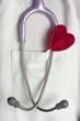 Corazón, San Valentín, fonendoscopio, piruleta.