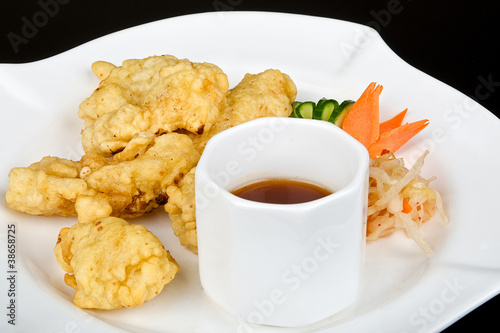 Fried chinese calamari