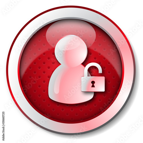 User security and privacy icon