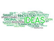 """IDEAS"" Tag Cloud (innovation problem solving smart solutions)"