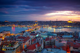 Istanbul Sunset Panorama - Fine Art prints