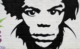 Graffiti mirada hombre. - 38664120