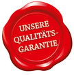 Siegel - Unsere Qualitätsgarantie