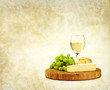 white wine cheese backdrop