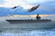 flugzeugträger und bomber