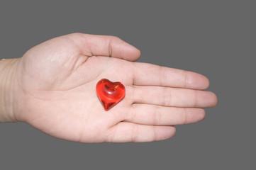 Te entrego mi corazón
