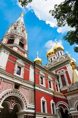 Kirche in der Stadt Shipka, Bulgarien