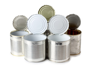 Metal tins