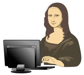 PC of Mona Lisa