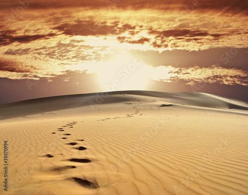 sand desert - 38670994