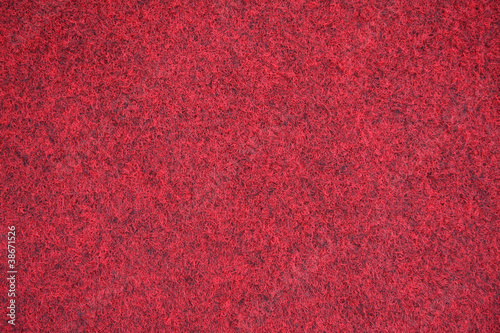 Leinwandbild Motiv roter Filz