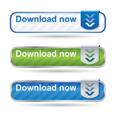 Web2 download button set
