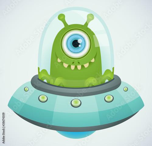 Ufo. Alien. - 38674309