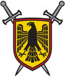 eagle and crossed swords coat of arms