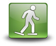 "Green 3D Effect Icon ""Snowshoeing"""