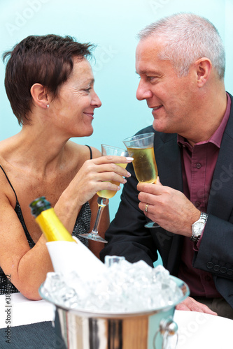 In de dag Buffet, Bar Champagne celebration