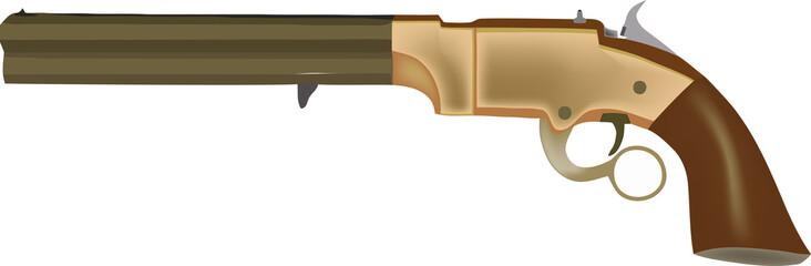 revolver volcanic