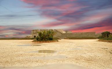 Castle Syracuse. Sicily, Italy. Frederick II Castle
